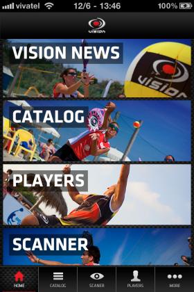 eLab Design Portfolio Vision Beach Tennis App Mobile