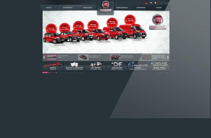 eLab Design Portfolio Fiat Web