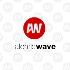 eLab Design Portfolio Atomic Wave Web icon