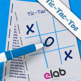 eLab Design Portfolio Tic Tac Toe Mobile icon